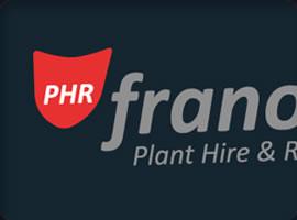 franoli plant hire logo design