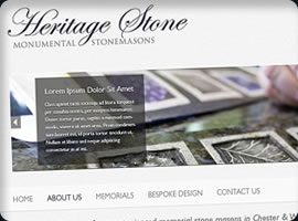 chester stone masons web design