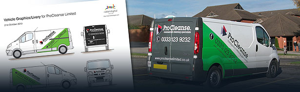 vehicle graphics design wirral