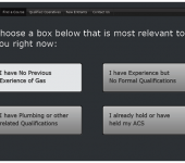 Find a gas course web design