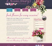 cheshire flower shop web design