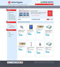 runcorn halton hygiene web design