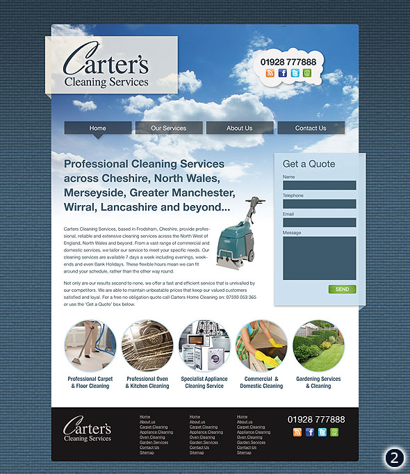 web design frodsham cheshire