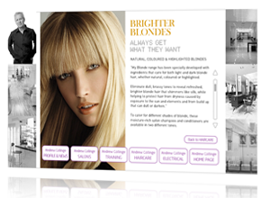 Andrew Collinge web design produced and maintained by Rabbitdigital for Andrew Collinge