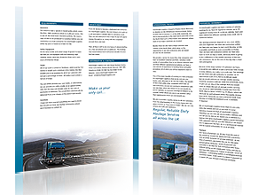 Brochure design for Interfreight by Rabbitdigital Frodsham Cheshire