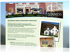 Bantry Bay Cottage website design, The Doctors House, by Rabbitdigital Birkenhead