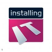 violet silver midnight blue installingIT logo