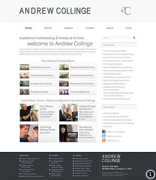 andrew collinge hair beauty website option 1