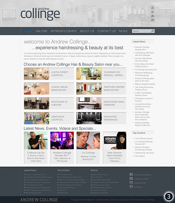 andrew collinge hair beauty website option 3