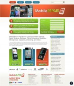 mobile repair website design