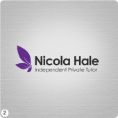 independant private tutor nicola hale logo with leaves