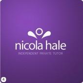 purple stone background wirral tutor logo