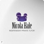 student tutor purple grey logo