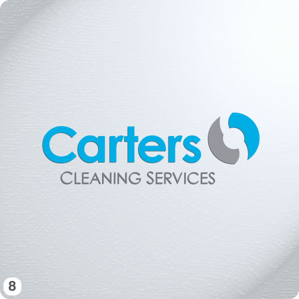 cheshire based carters cleaning services new logo design
