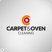 carpet oven co graphic logo design