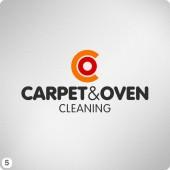 carpet oven co graphic logo design