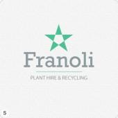 franoli cheshire plant hire logo design