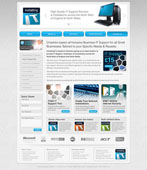 installing it website design