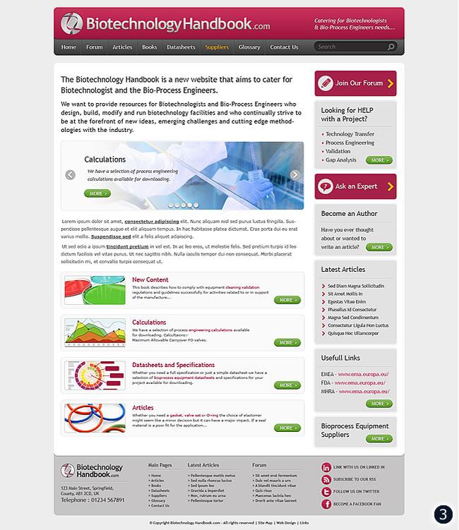 biotechbology handbook home page visual 3 grey maroon