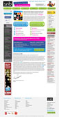 student notice board website design project