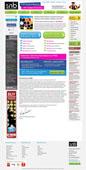 student notice board website design project