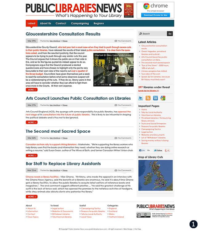 Cms Design Public Libraries News Option 1