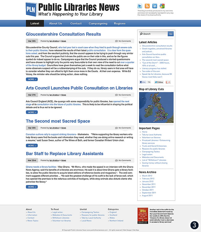 cms design public libraries news option 3