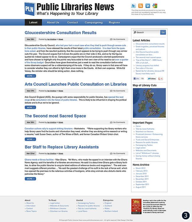 cms design public libraries news option 3