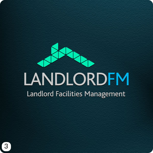 9 Landlord FM Logo Design Options