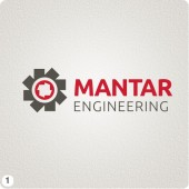 mantar engineering runcorn logo design