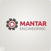mantar engineering runcorn logo design