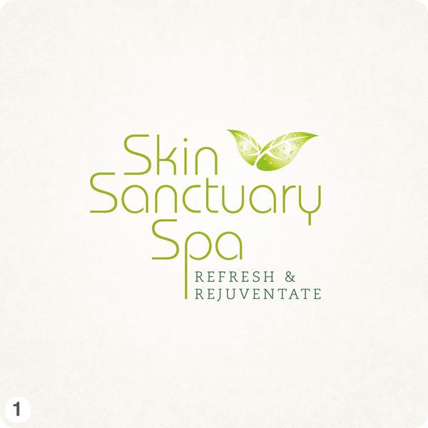 9 logo design visuals for new cheshire spa for A fresh start beauty salon
