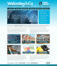 home page first draft design