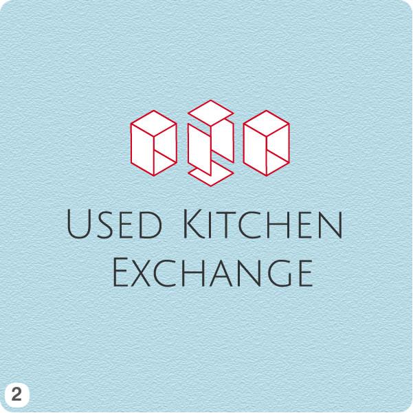 Kitchen Designer Logo logo design 2 - 3 progressive shapes outlined logo design with