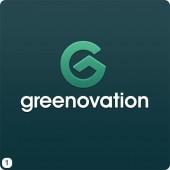 roof g logo design dark green background white lettering