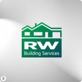 green building services logo design