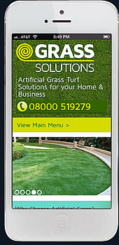 grass solutions iphone viewport