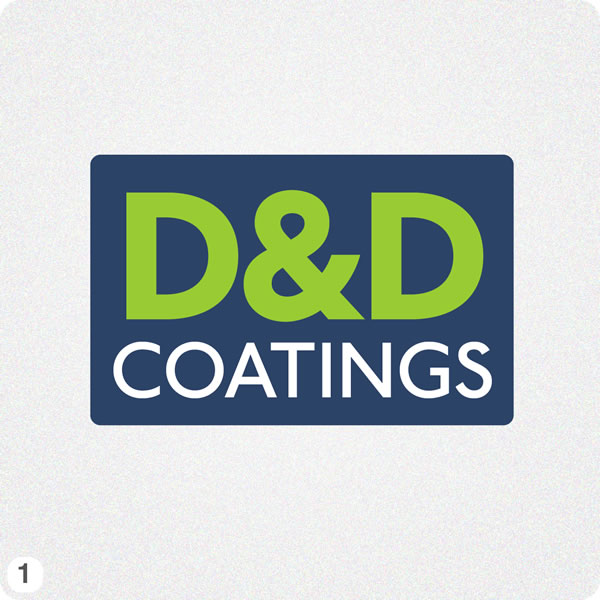 Painting Company Logo Design For D Amp D Coatings