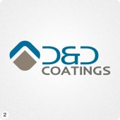 d&d logo design blue grey roof apex