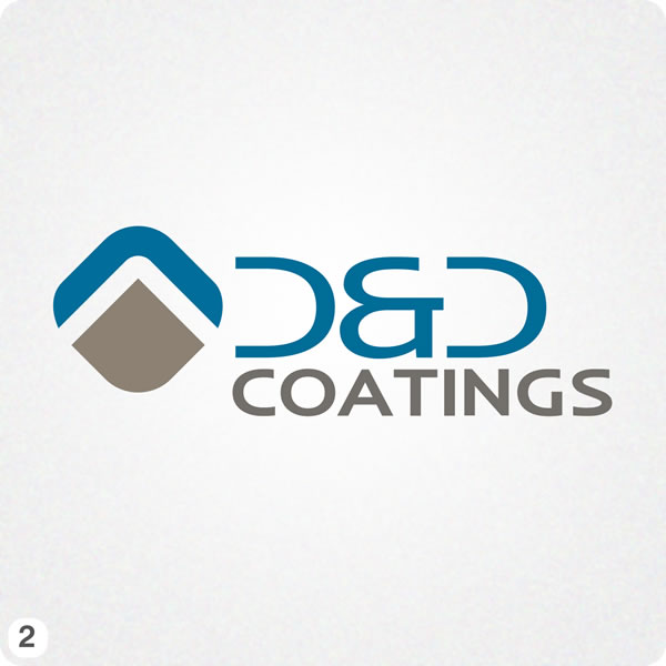 Painting company logo design for d d coatings for Industrial design company