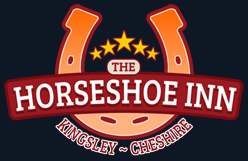 horseshoe inn pub logo design