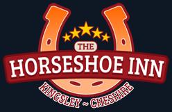 horseshoe inn pub logo design
