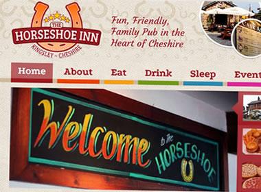cheshire pub website design