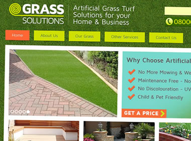 grass company website project