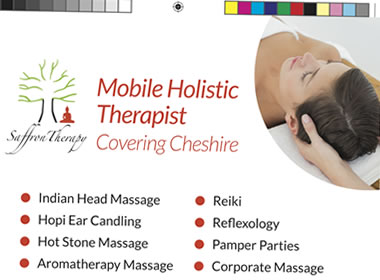 aromatherapy leaflet design