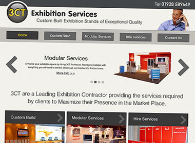 exhibition services website