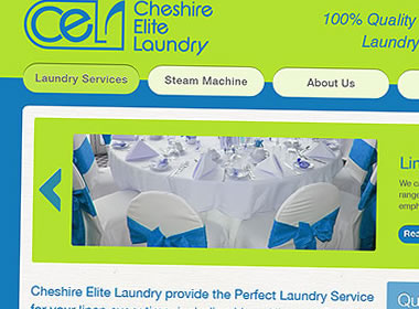 laundry website design