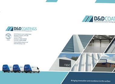 painting company brochure design