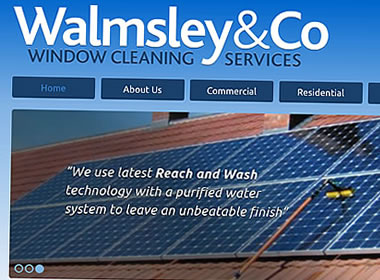window cleaning company website